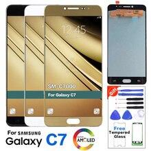 Super affichage AMOLED pour Samsung Galaxy C7 C7000 SM-C7000 écran daffichage à cristaux liquides