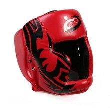 2 colori MMA Muay Thai Nuovo Casco Boxe Calcio Training Sparring In MMA Attrezzature Per Il Fitness Concessione Guantoni Da Boxe Copricapo