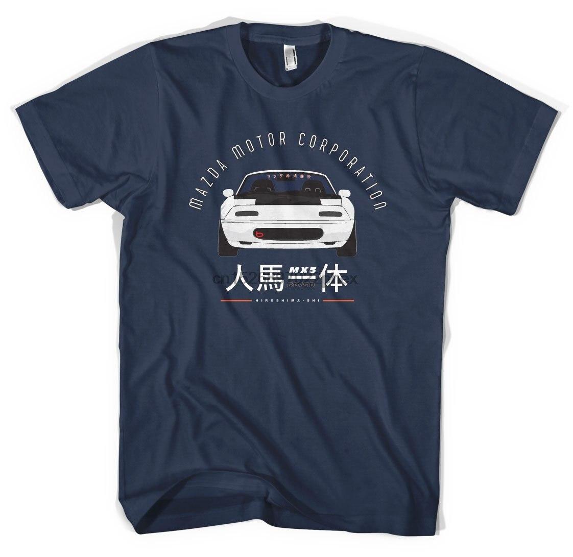 Mazda Mx5 T roadster miata euro jdm import japan drift track rennwagen männer t shirt