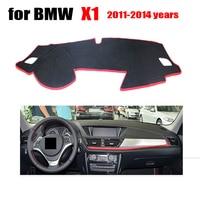 RKAC Custom fit Car Auto dashboard cover mat For BMW 1 Series 2011-2014 left steering wheel Car dashboard avoid light pad