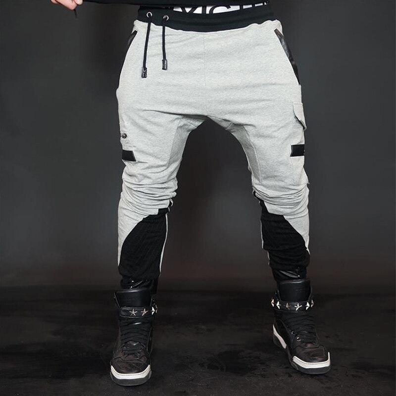2018 homens apertados correndo calças esportivas leggings yoga roupas de fitness compressão esportiva suor jogging masculino workout gym calças