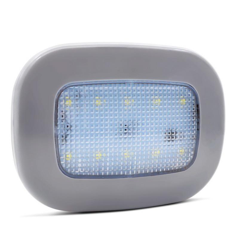 Lámpara LED de lectura de luz interior para techo Safego, recargable por USB, lámpara LED Universal magnética para estilizar el coche, luz nocturna blanca