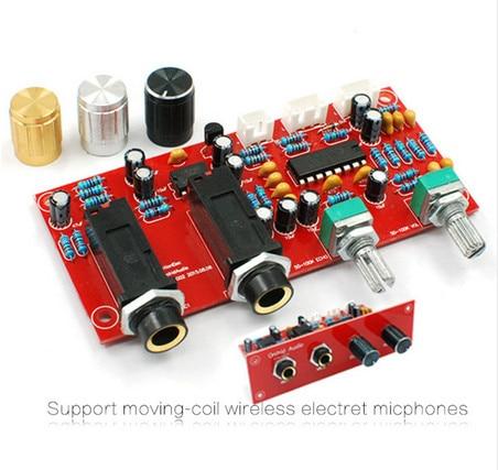PT2399 NE5532 micrófono de Karaoke preamplificador Placa de reverberación placa amplificadora