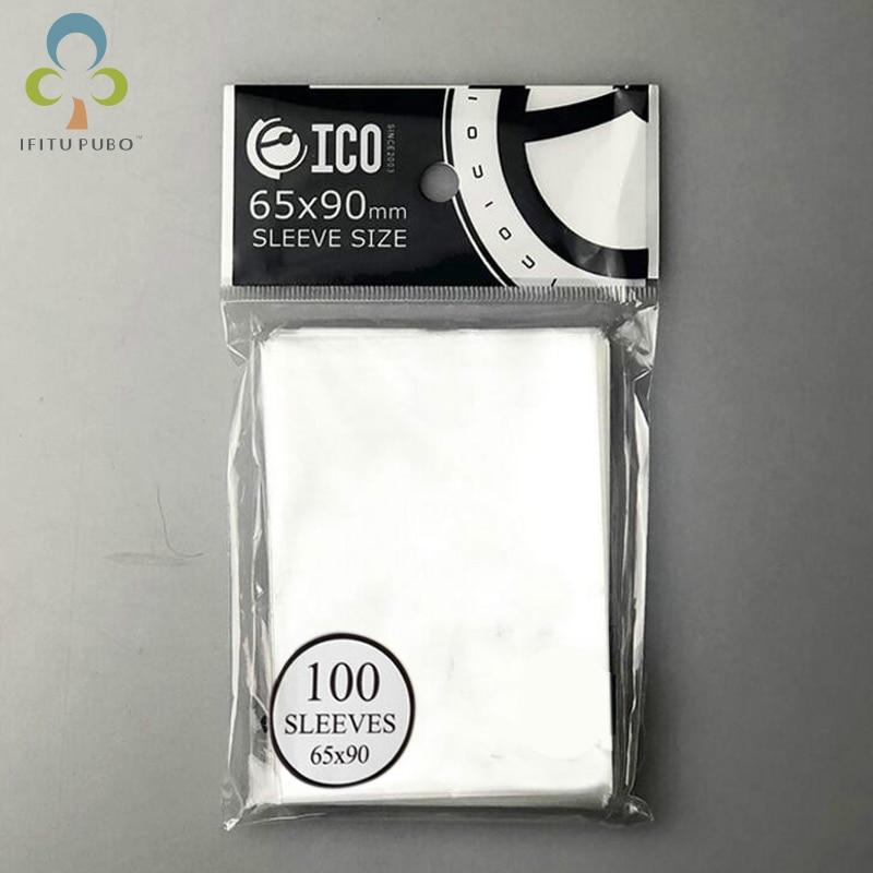 2 paquetes = 200 Uds 65*90mm tarjeta mangas Protector Barrie tarjetas para reunión mágica para mtg tarjetas tcg juego de mesa de cartas mangas GYH