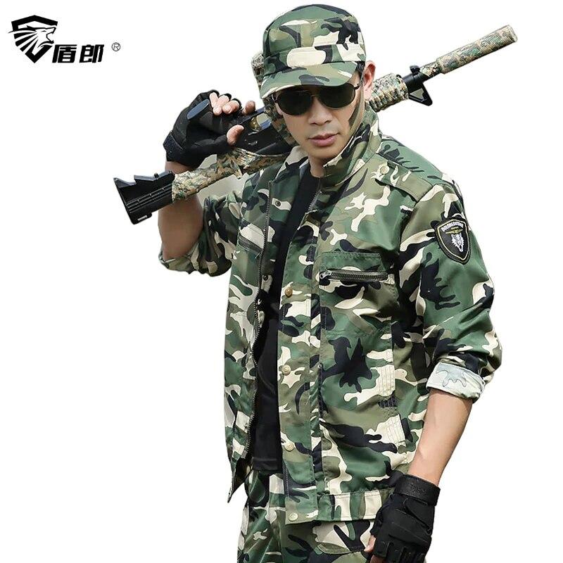 Militär Uniform Taktische Grün Camouflage Kleidung UNS Armee Uniforme Ropa Militar Multicam Kleidung Kampf Jacke + Cargo Pant Männer