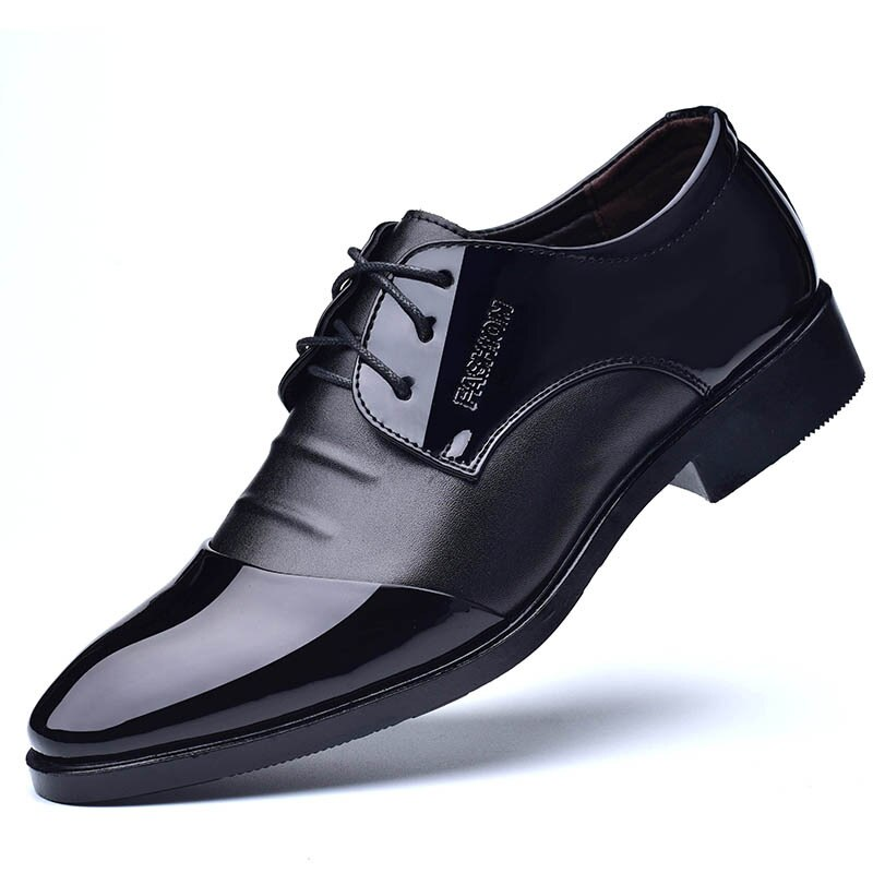 mocassins zapato mocassins Business Deluxe OXford Shoes Men's Breathable PU Dance Shoes Rubber Shoes Men's Office Party Wedding Shoes Mocassins