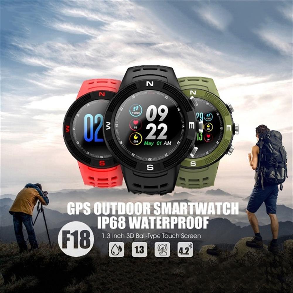 Reloj inteligente a la moda para Hombre, función de cronógrafo, puntero pluminoso, relojes deportivos para Fitness, correa de negocios, Reloj para Hombre # F