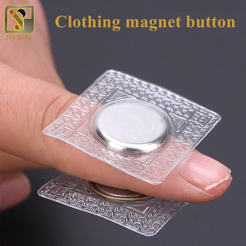 Botón a presión magnético de Metal de costura Invisible de PVC DIY para bolsa accesorios de ropa de abrigo Scrapbooking