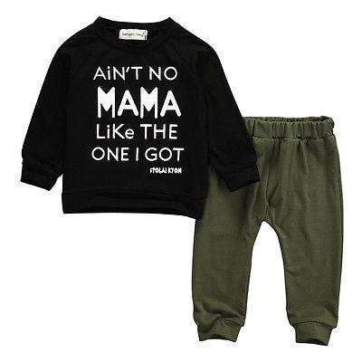 2pcs Newborn Toddler Kids Baby Boy Clothes T-shirt+Pants Outfits Set 0-3Y infant boy clothing newborn clothes christmas 2016 new