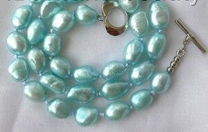 Ожерелье с пресноводным культивированным жемчугом, 8-9 мм, 16 дюймов