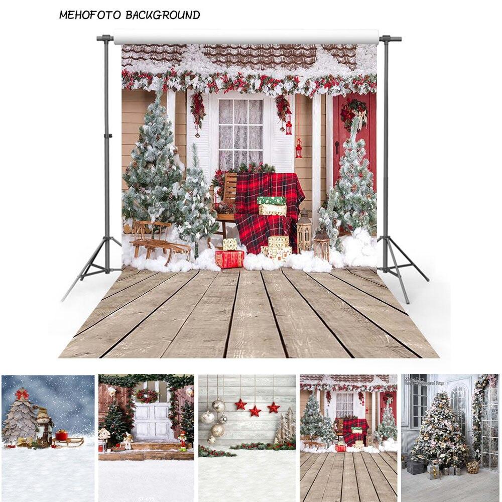 Telón de fondo navideño para fotografías de 1,5x2,2 metros, 5x7 pies, telón de fondo plegable para estudio de Foto de vacaciones, 5 modelos disponibles