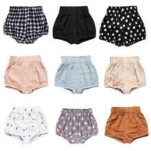 2020 Pasgeboren Peuter Kids Baby Jongen Meisje Katoen Onderkant Zuigeling Bloeier Slips Luier Cover Slipje 6-24M Kids bloeiers Baby Shorts