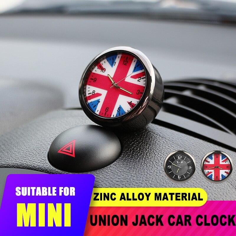 Интерьер автомобиля Юнион Джек выход воздуха часы украшения для Mini Cooper JCW S F55 56 F60 R55 R56 R60 Countryman для Honda Civic 10th