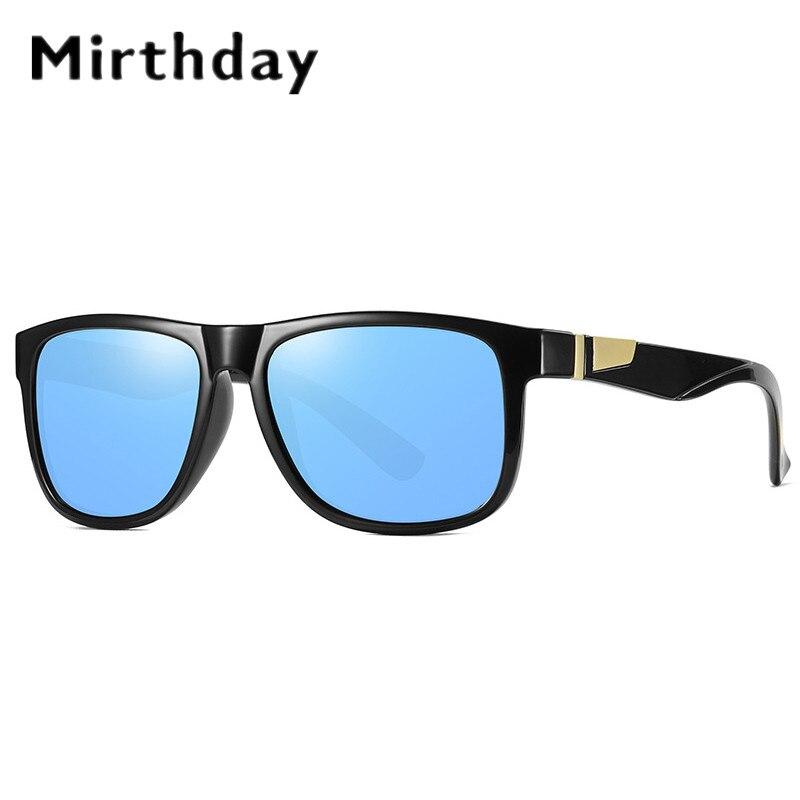 Mirthday polarizado gafas de sol para hombre de marca de diseño Plaza sombra gafas de sol hombres deporte gafas de conducir gafas uv400 gafas de sol