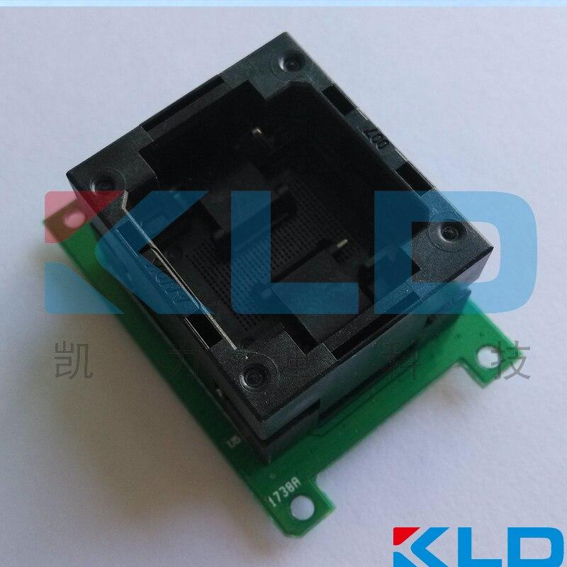 Toma de prueba de placa LGA60 a DIP48, tapa abierta, LGA60 quemadura de memoria Flash, prueba de programación