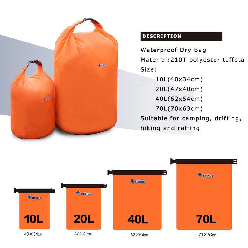 10l 20l Waterproof Dry Bag Pack Sack Swimming Rafting Kayaking River Trekking Floating Sailing Canoing Boating Water Resistance River Trekking Bags Aliexpress
