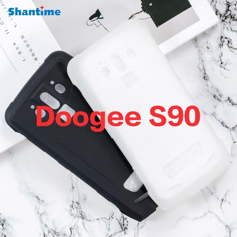 Para Doogee S90 Gel de silicona teléfono protector trasero Shell para Doogee S90 TPU caso suave