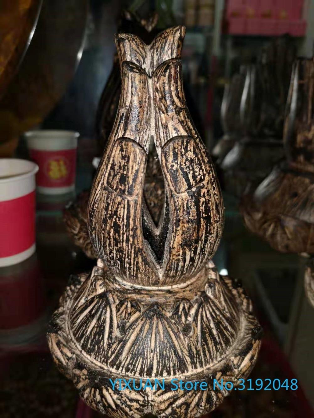 Vietnam Tuchen budista artesanía pequeños ornamentos Chenxiang colección escultura de esculturas de artesanía
