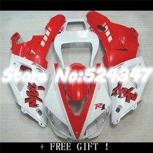 Nn-Kit complet pour Yamaha   Rouge chaud blanc YZFR1 98 99 YZF R1 98-99 1000 YZF1000 YZF 1998, rouge blanc 1999