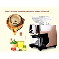 new automatic seed oil press machine cold hot press oil expeller oil extractor 110v220v zf