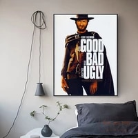the good the bad and the ugly canvas prints modern painting posters wall art pictures for living room decoration no frame