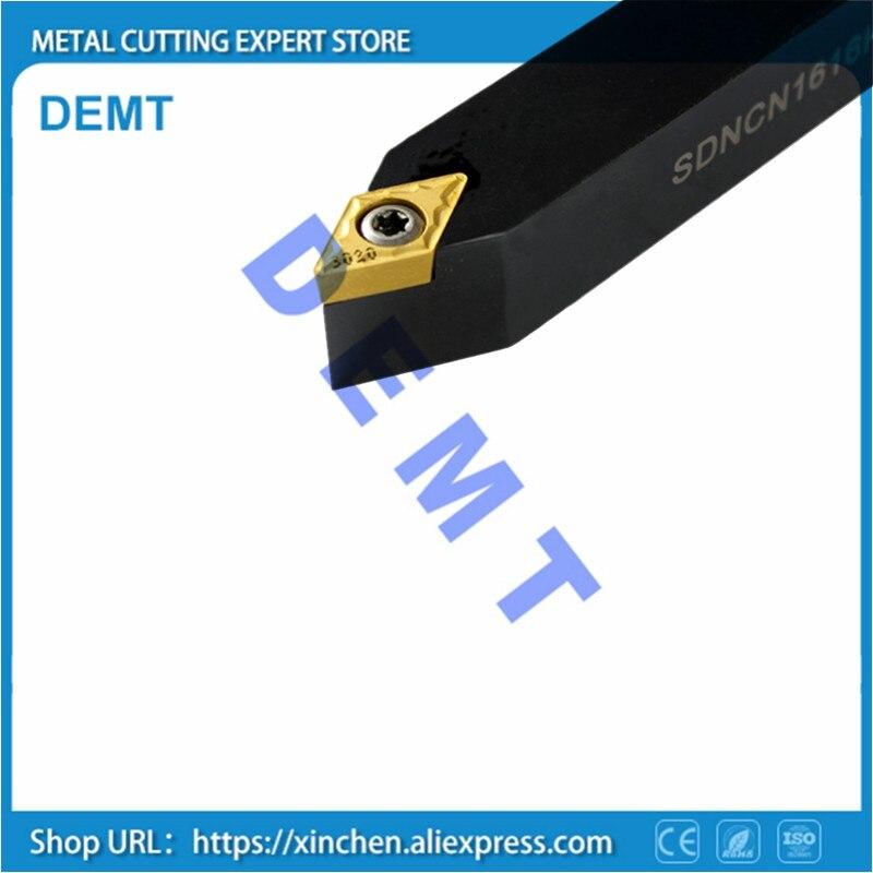 SDNCN1010H07 12*12 16*16 20*20 herramienta de torneado de arco esférico externo para insertar DCMT DCGT 070204 11T304 torno mecánico