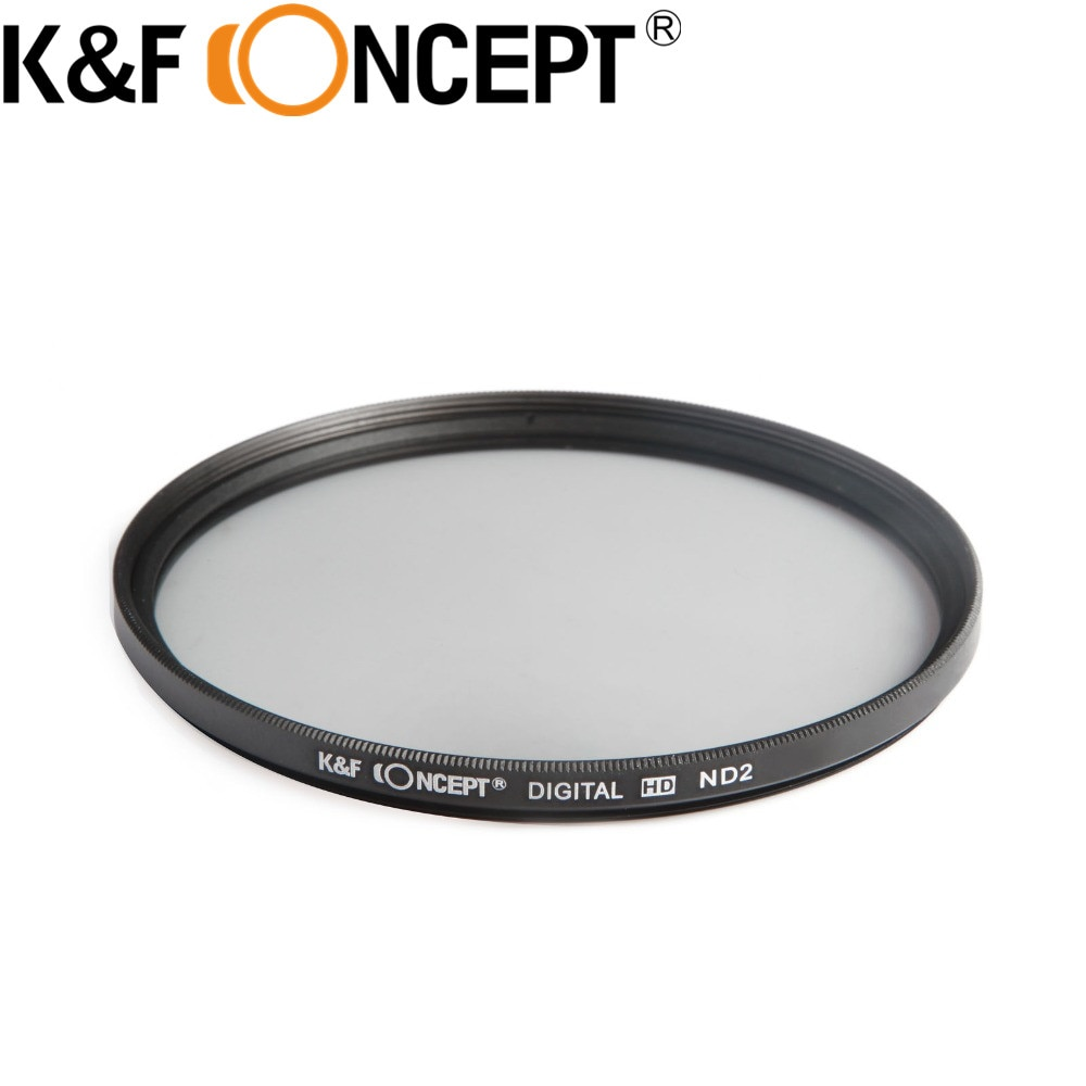 Набор фильтров K & F для объектива Canon 6D 5D Mark II III, набор фильтров 49/52/55/58/62/67/72/77 мм, ND2 ND4 ND8 ND