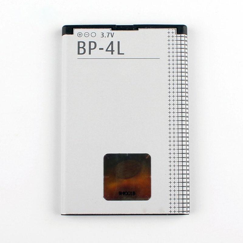 Original BP-4L de la batería del teléfono para Nokia E61i E63 E90 E95 E71 6650F N97 N810 E72 E52 BP4L 1500mAh