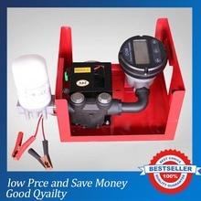 Pompe de mesurage du carburant 60/min   Avec pistolet à huile, pompe Diesel 12V/24V/220V