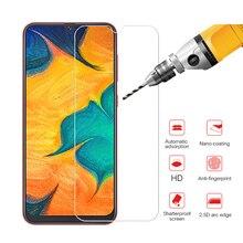 Verre de protection sur pour Samsung Galaxy A30 A50 couvercle de protection décran sur pour Galaxy M30 verre trempé film sreen galax a 30 50