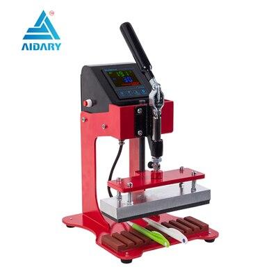 Stift Wärme Druckmaschine Hot Transfer Druck Maschine Presse Maschine Für Kunststoff Kugelschreiber Logo Drücken Maschine