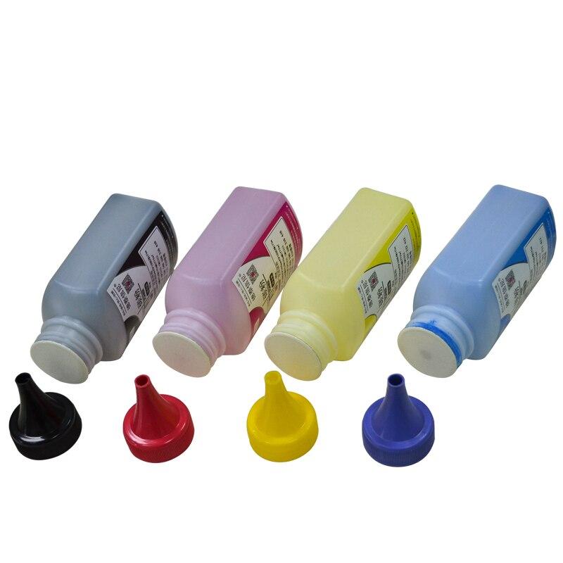 2020 4 cores/conjunto de pó toner compatível para hp cor laserjet pro cp1025 cp1025nw alta qualidade toner em pó para impressora a laser