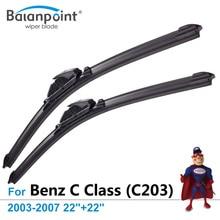 Essuie-glace pour mercedes-benz classe C (C203)   2003-2007, 22
