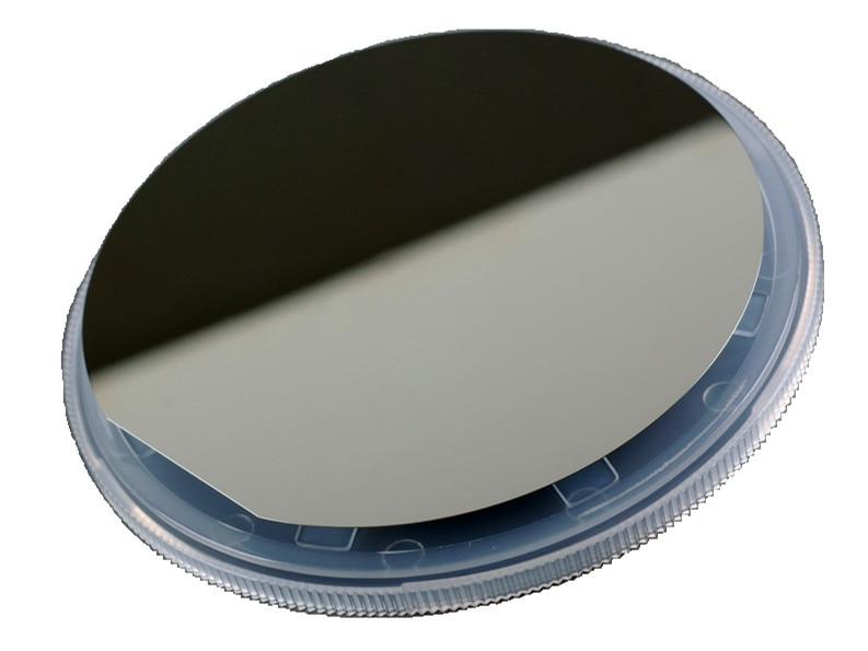 Oblea de silicio monocristalino pulido de una sola cara de 4 pulgadas/resistividad 10-20 Ohm por centímetro/espesor de 300um