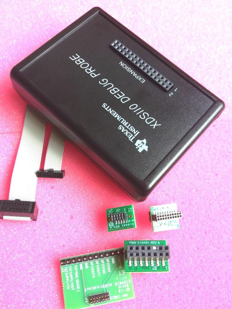 Emulator burning Downloader TMDSEMU110-U XDS110 JTAG Debug Probe v9 v8 emulator adapter board supports jtag cortex stm32 super multi interface