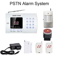 Systeme de securite pour alarme domestique sans fil   433MHZ PSTN  numero dappel reseau PSTN  telecommande capteur PIR  capteur dalarme douverture de porte