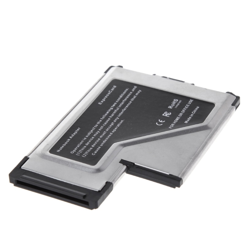 2 порта скрытый 54 мм USB 3,0 EXPRESSCARD адаптер расширения карты для ноутбука