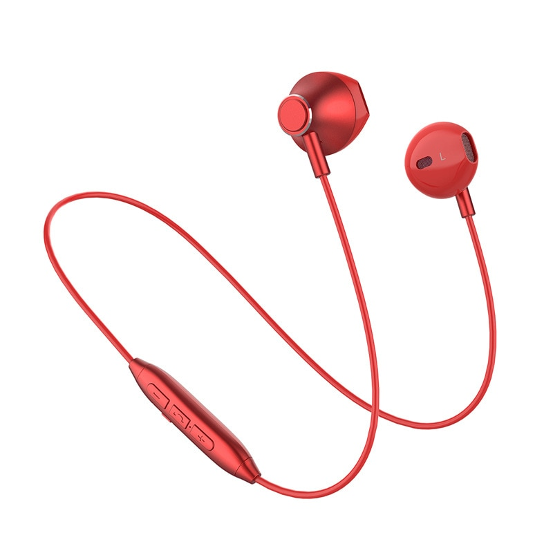 New Bluetooth Headphones Wireless Earphones Support 2 Device Waterproof Headphone Sports Earphone Bass Stereo With Mic For phone
