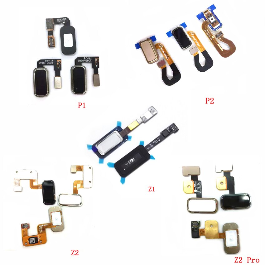 Гибкий кабель для Lenovo ZUK Z1 Z2 Pro P1 P2 Touch ID Fingerprint Sensor Flex Home Menu Button