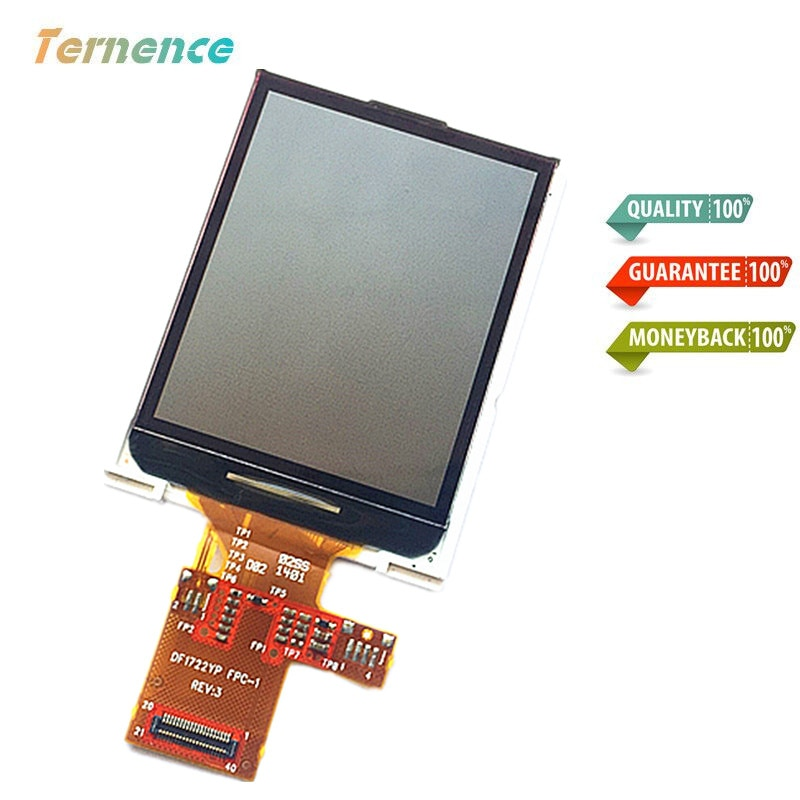 Pantalla LCD Skylarpu para GARMIN EDGE 510 510J Medidor de velocidad de bicicleta panel de pantalla LCD (sin pantalla táctil) DF1722YP FPC-1 REV 3
