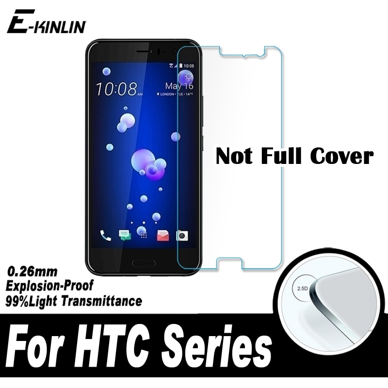 2.5D Screen Protector Protective Glass Film For HTC U19e U11 U12 Life U Ultra 10 evo Desire 12s 12 19s 19 Plus Tempered Glass