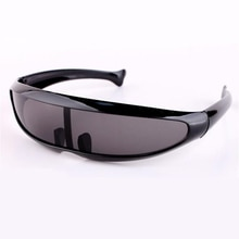 WANMEI.DS Men's Sunglasses X-Men Personality Laser Glasses Cool Robots Sun Glasses Driving Sunglass