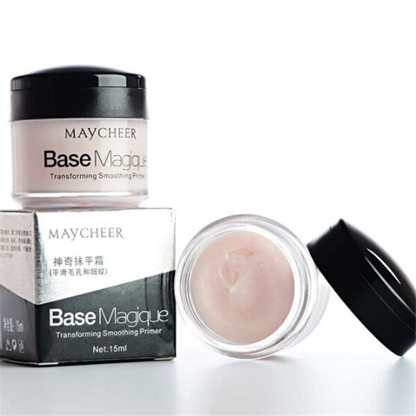 Face Concealer Cream Cosmetic Foundation Base Cover Pore Wrinkle Makeup Primer Lasting Oil Control Waterproof MAYCHEER 15ML