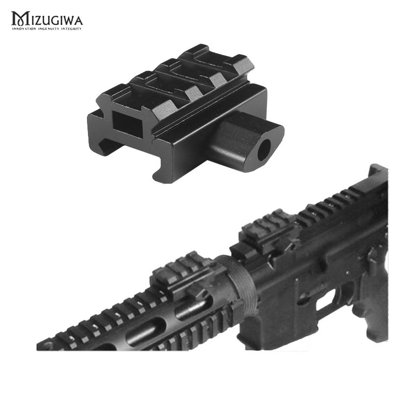 "Mini Quick Release 0,5 ""Low Profile 3 Slot Compact Riser Montieren 20mm Picatinny Schiene AR-15 Zubehör"