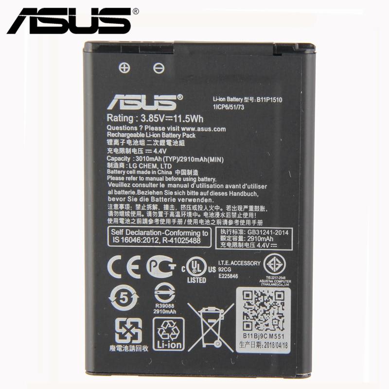Original ASUS B11P1510 Batterie Für ASUS ZenFone Gehen TV ZB551KL X013DB 3010 mAh 2018 neue