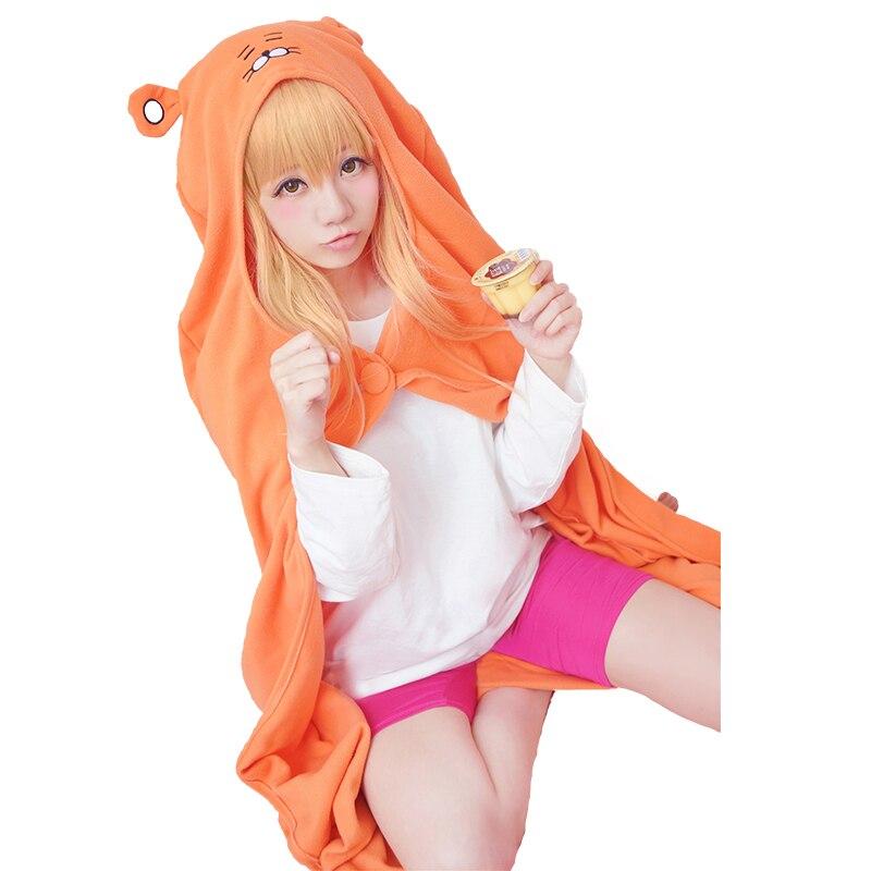 Disfraz de Cosplay HSIU Umaru Doma de Himouto! Umaru-chan capa camisa pantalones apretados peluca Disfraz XIUQINJIA Halloween Cosplay