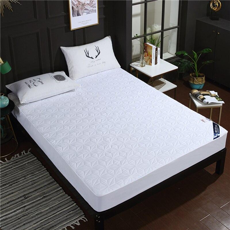 LAGMTA 1 قطعة 100% البوليستر للماء فراش غطاء شرشف أربعة زوايا مع مرونة السرير ورقة