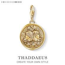 Знак зодиака Близнецы Очаровательная подвеска в форме звезды Томас новая коллекция хорошее ювелирное изделие клуб Tms подарок в 925 пробы серебряный браслет