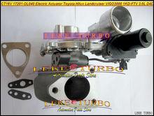 Free Ship CT16V 17201-OL040 17201-30110 Electric Actuator Turbo Turbocharger For TOYOTA Landcruiser Hilux SW4 D4D 1KD-FTV 3.0L