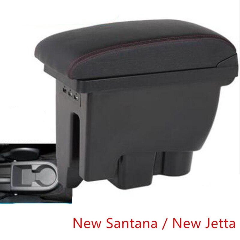 Aplicable a Volkswagen Jetta nueva Santana reposabrazos caja 2013-2019 reposabrazos caja